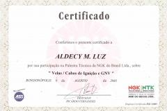Velas / Cabos de Velas e GNV