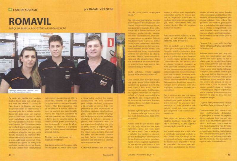 Entrevista Revista ACIR Out-Nov