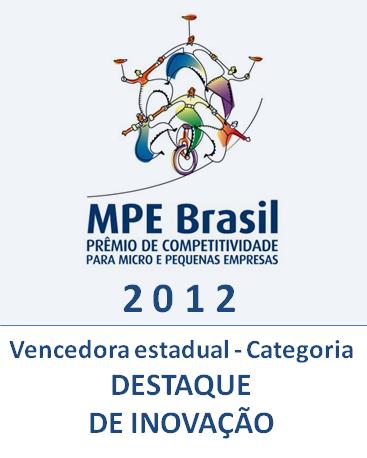 2012 - Vencedora Inovação