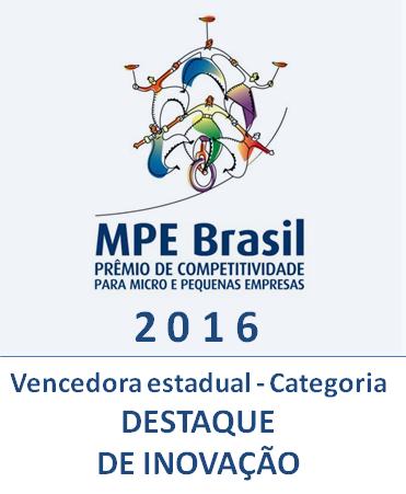 2016 - Vencedora Inovação