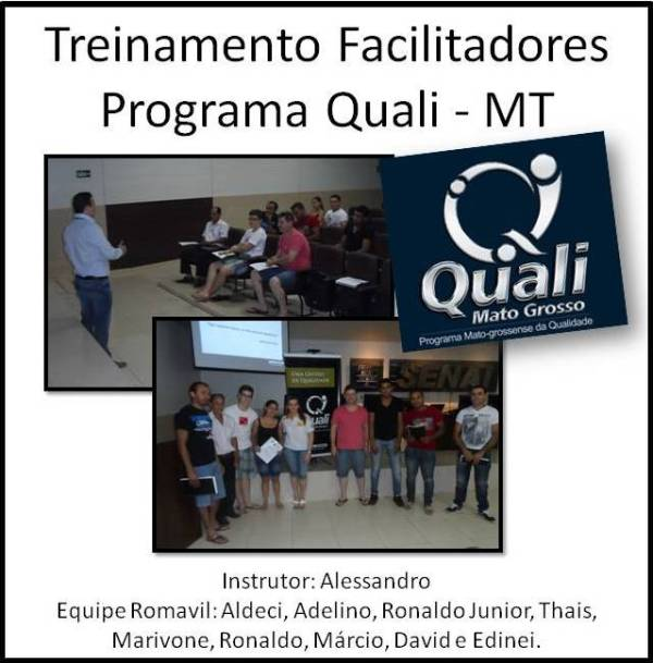 Treinamento Facilitadores Programa Quali - MT