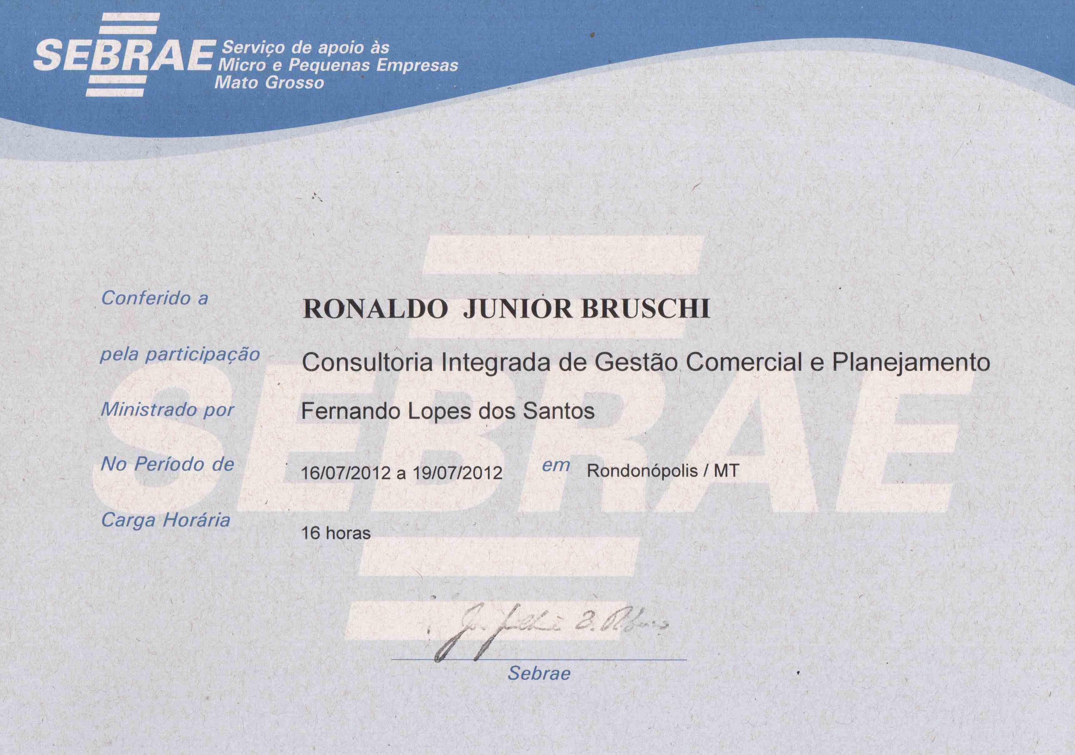 Consultoria Integrada de Gestão Comercial e Planejamento